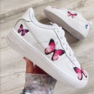 Nike air force 1 low custom butterfly 🦋